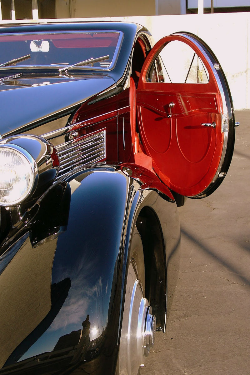 1925 Rolls Royce Door