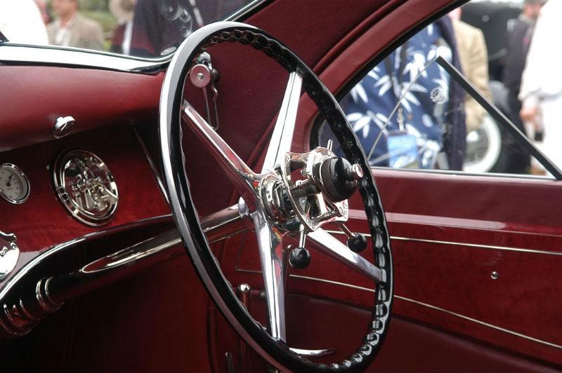 1925 Rolls Royce Phantom l Interior