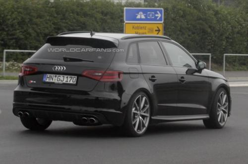 2013  Audi RS3 spied testing
