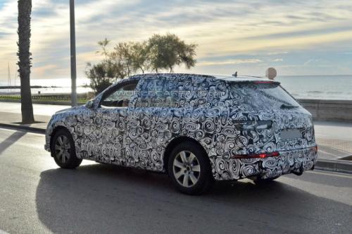 2013 Next-gen Audi Q7 spied testing