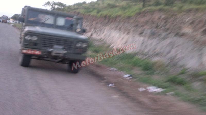 Tata Military Hummer