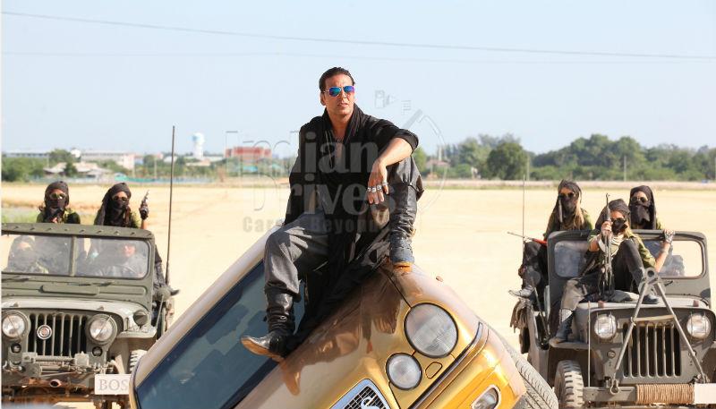 Akshay Kumar Mercedes Benz for Boss