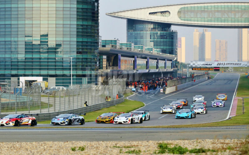 Gentlemen Drivers Set off for the Fifth Round of the Super Trofeo Asia Series 2013