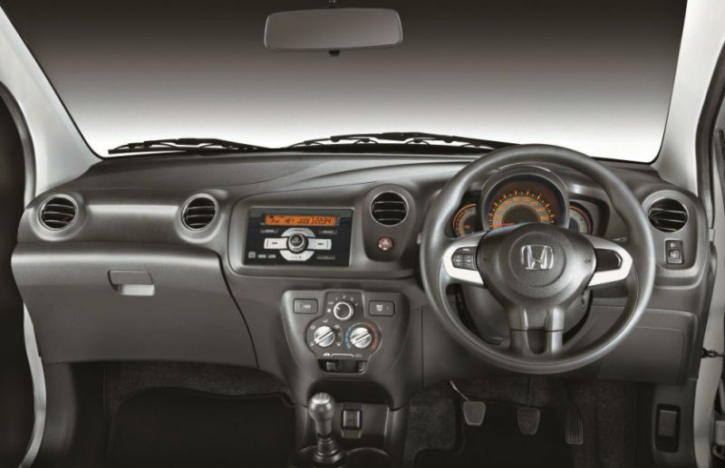 Honda Brio Exclusive edition Interiors
