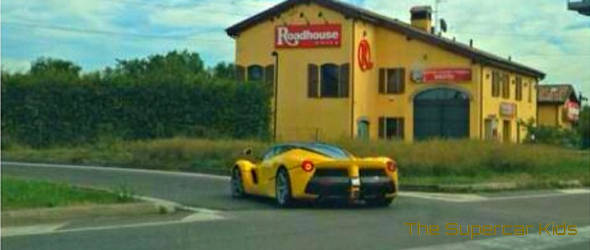LaFerrari spotted in Yellow