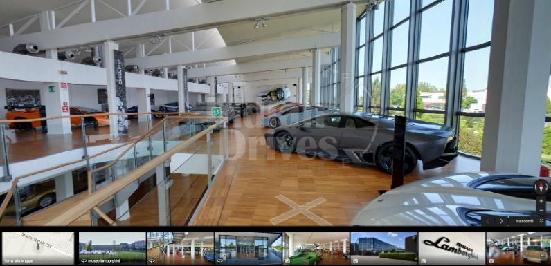 Lamborghini Launches Exclusive Museum Indoor View on Google Maps