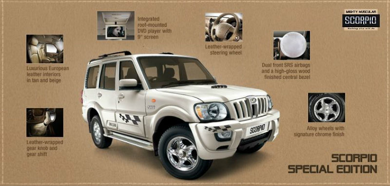 Mahindra Scorpio Limited Edition