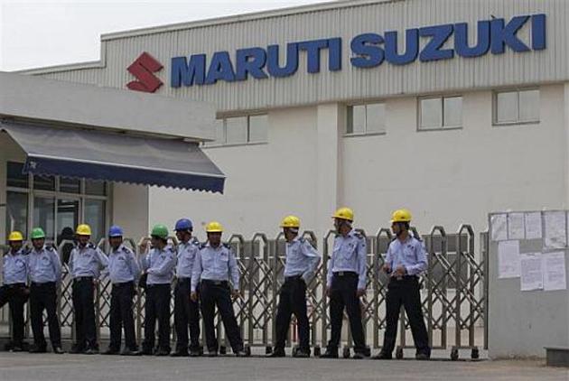 Maruti Suzuki Service Workshop