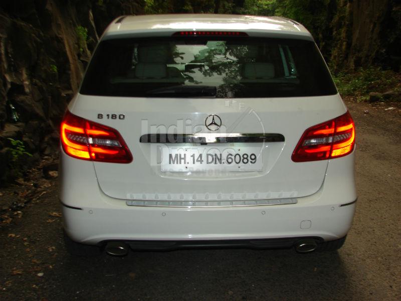 Mercedes-Benz B180 Back View