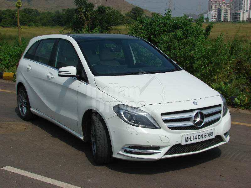 Mercedes-Benz B180 Test Drive in India