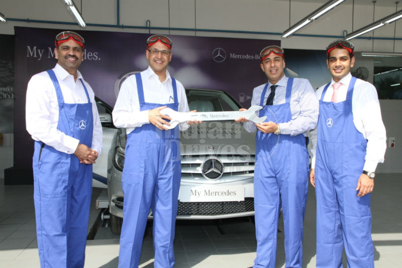 Mercedes Benz India launches 4th pillar of Year of Offensive