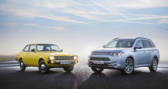 Mitsubishi turns 40 in Europe