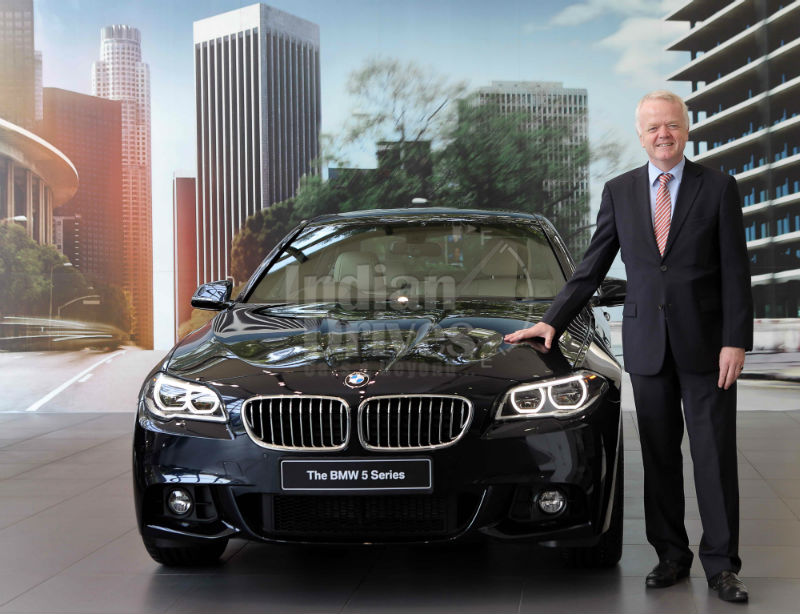 New BMW 2013 5 Series Facelift launched in India