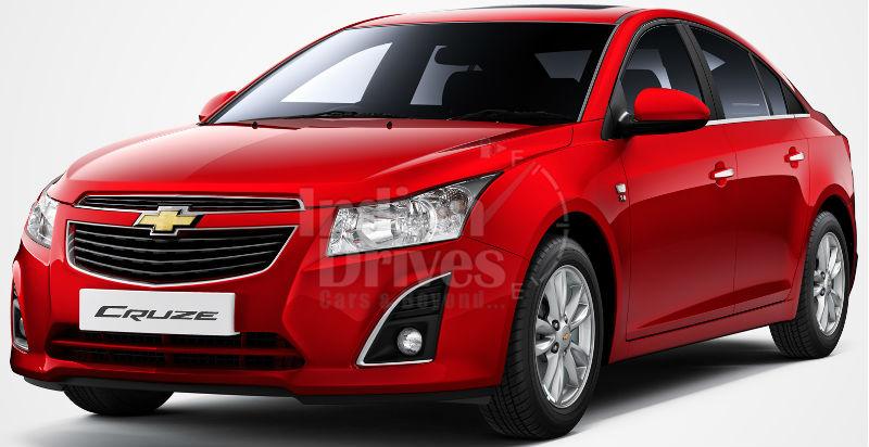 New Chevrolet Cruze 2013
