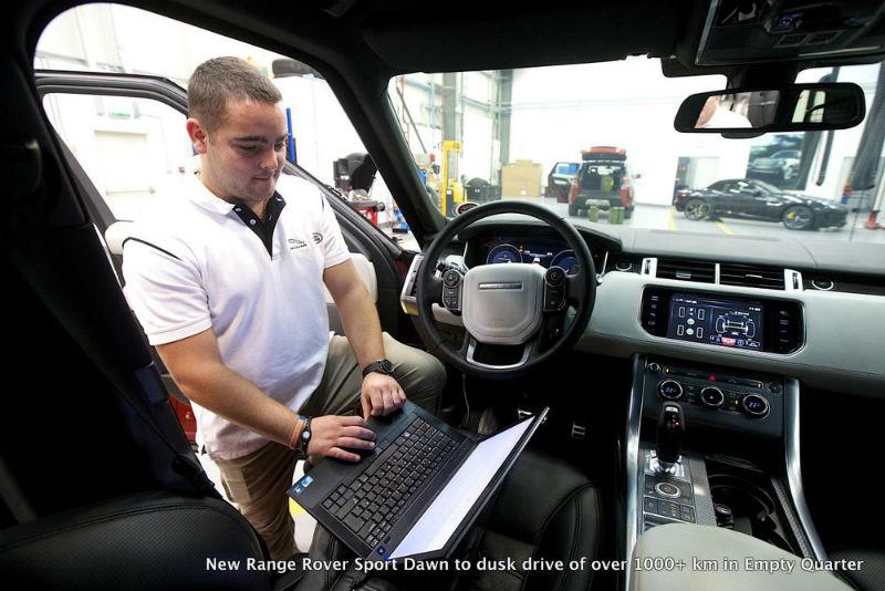 New Range Rover Sport Interiors