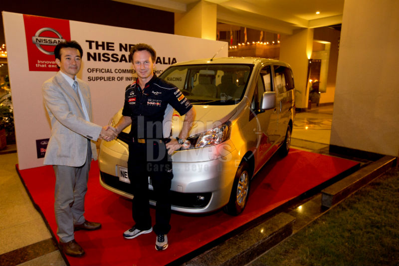Nissan Evalia Infiniti Red Bull Racing
