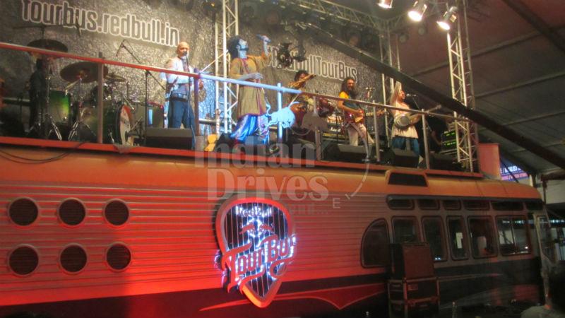 Red Bull Tour Bus unveiled in Mumbai