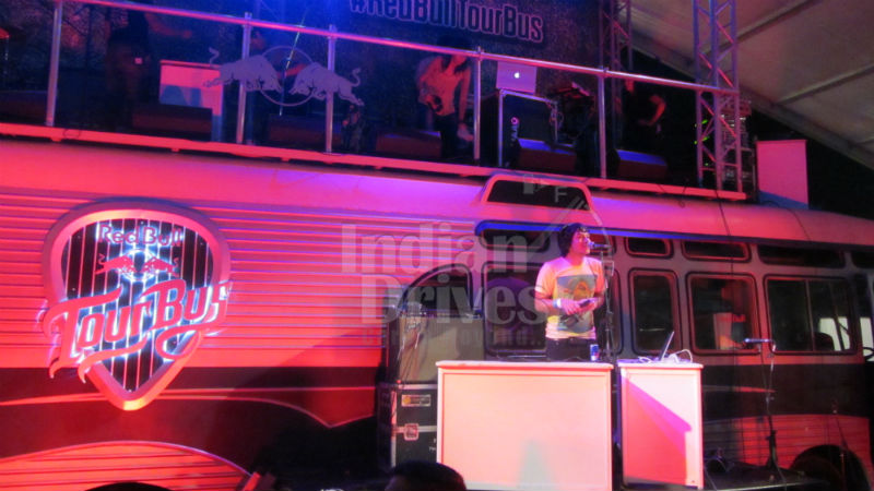 Red Bull Tour Bus unveiled