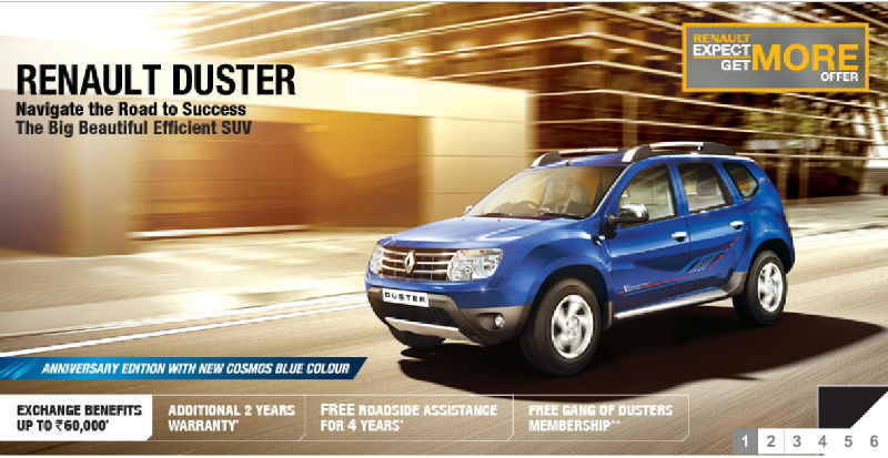 Renault Duster Anniversary Edition