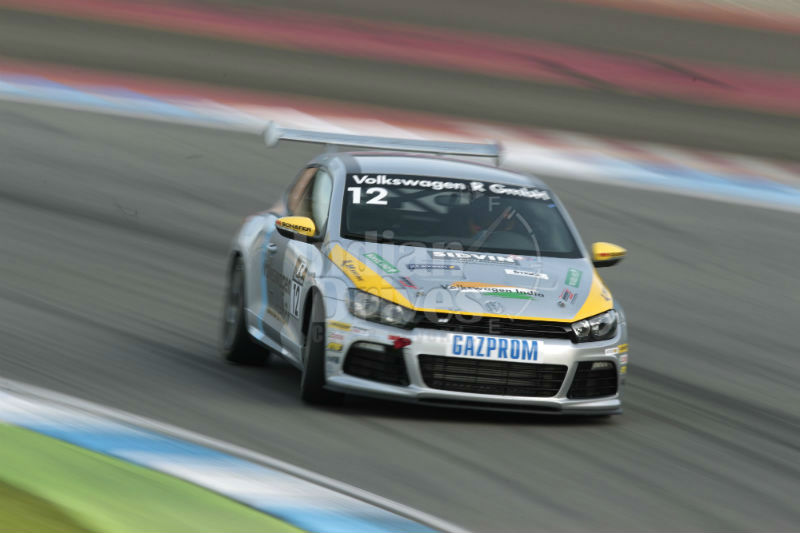 Sandeep Kumar action in his Race Scirocco R-Cup
