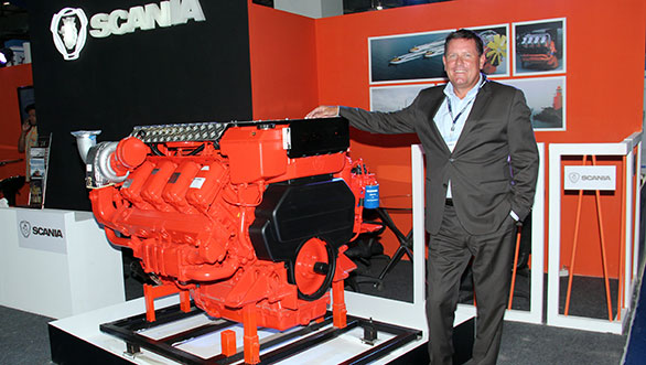 Scania launches Marine Engines