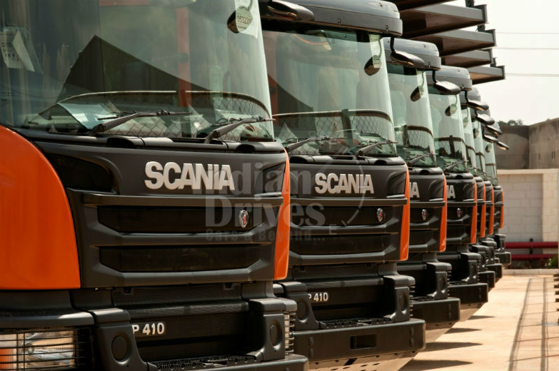 Scania opens its first manufacturing
