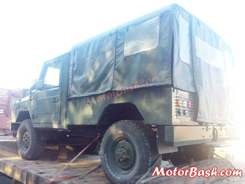 Tata Light Specialist Vehicle Back View