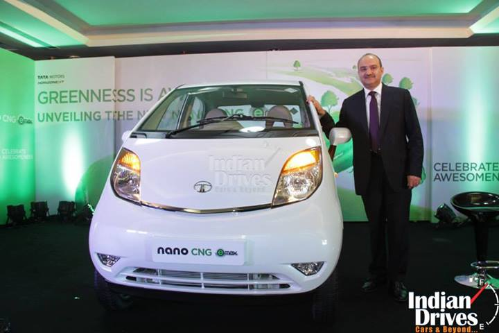 Tata Nano CNG emax launched in India