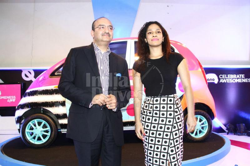 Tata Nano celebrated young achievers spirit with Masaba Gupta at 'Nano Awesomeness Live'