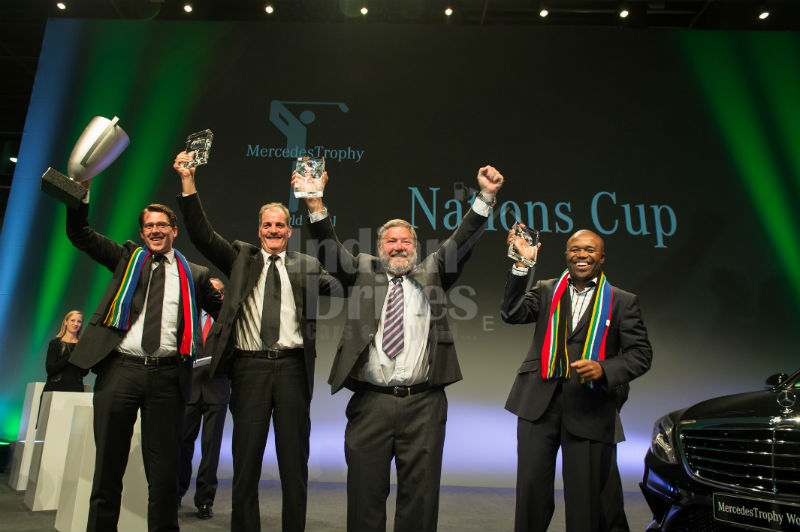 Team South Africa wins Mercedes Trophy World Final 2013