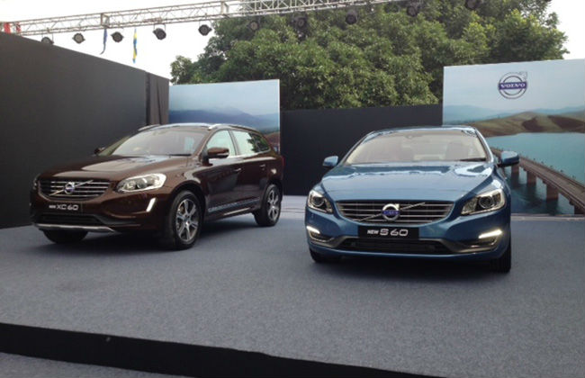 Volvo launch S60 and XC60