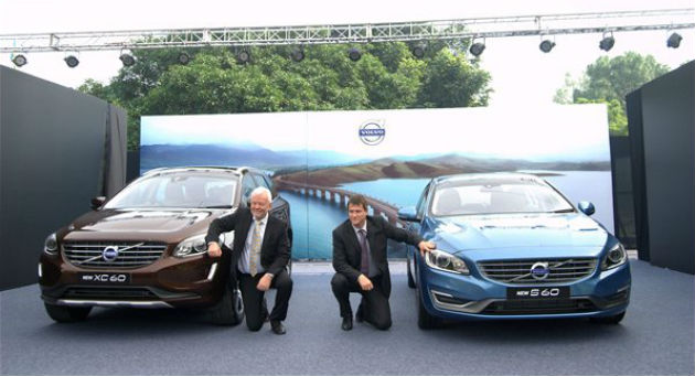Volvo launched new S60 and XC60 in India