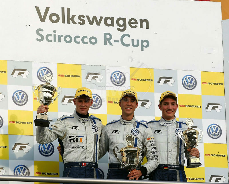 Winner of Scirocco R-Cup 2013