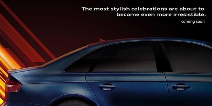Audi A3 sedan teased for India