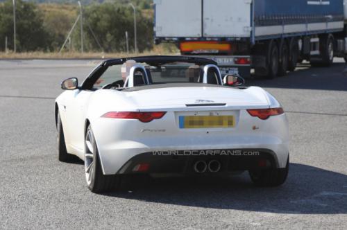 Jaguar F-Type Back View