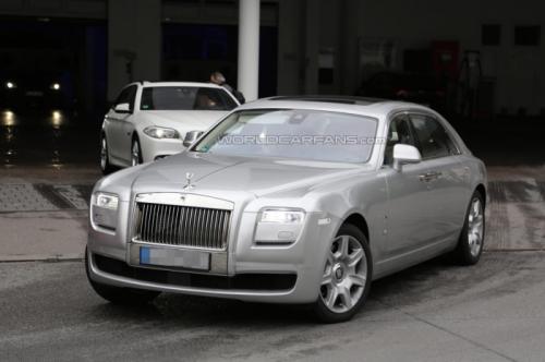 2013 Rolls Royce Ghost Facelift