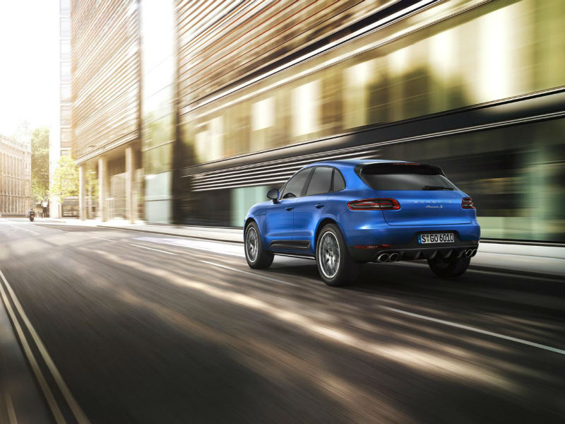 2014 Porsche Macan Back View