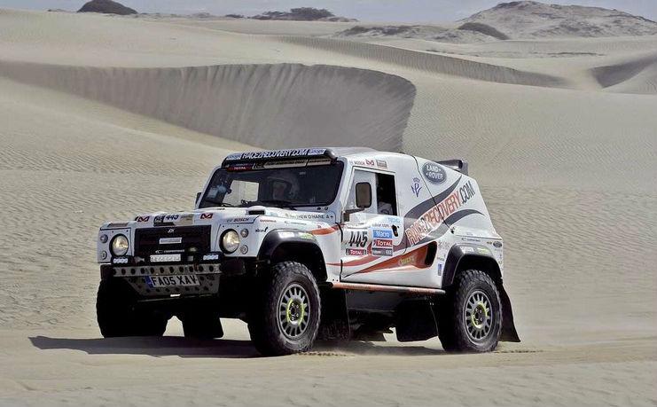 2014 Race2Recovery's Dakar