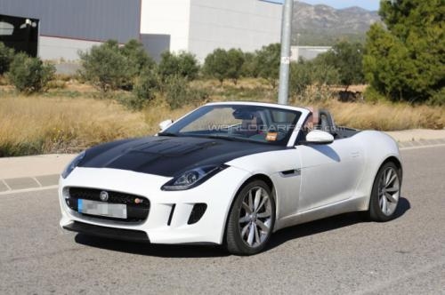 Jaguar F-Type with four-cylinder engine