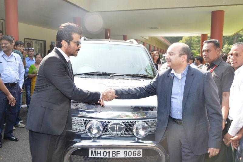 Anil Kapoor gets Jai Singh Rathod edition of Tata Safari Storme