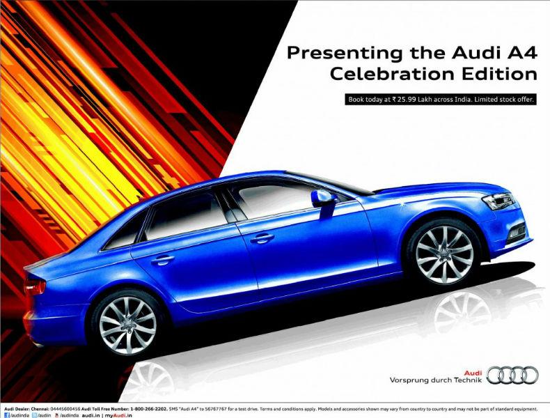 Audi A4 Celebration Edition