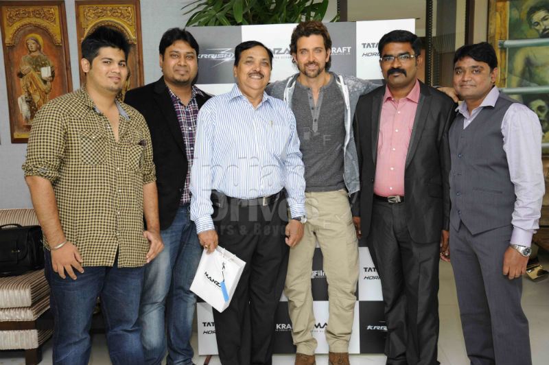 Hrithik Roshan concludes Tata Motors 'Driven by the Extraordinary' campaign