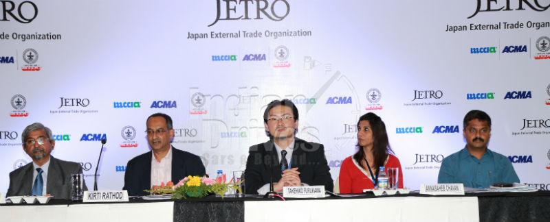 JETRO holds maiden auto components event
