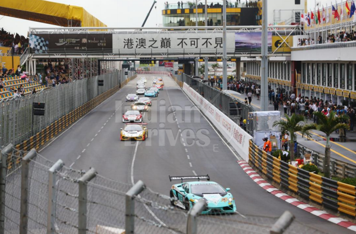 Lamborghini Blancpain Super Trofeo Asia Series 2013 Macau Grand Prix Infused with roar of Lamborghini
