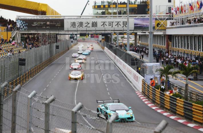 Lamborghini Blancpain Super Trofeo Asia Series 2013 Macau Grand Prix Infused with roar of Lamborghini