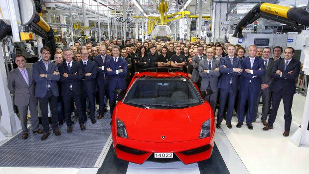 Lamborghini Gallardo production ends