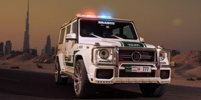 Mercedes Benz G63 AMG for Dubai Police