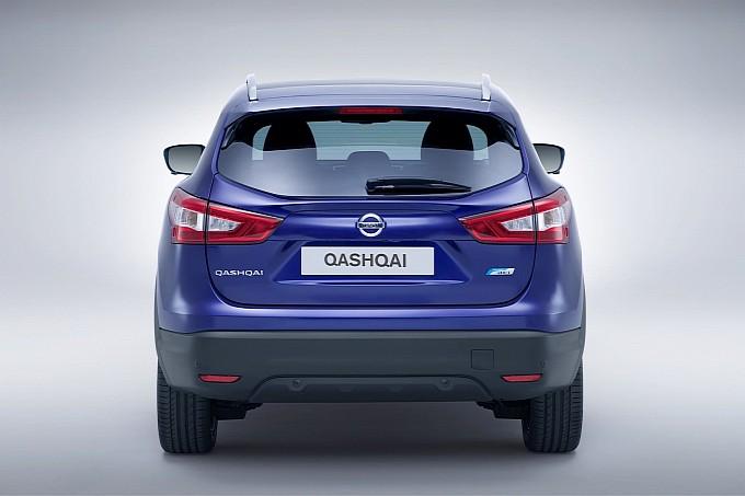 Nissan Qashqai Back View
