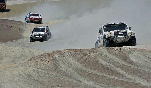 Race2Recovery's 2014 Dakar