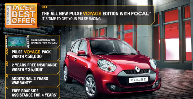 Renault Pulse Voyage Edition launched